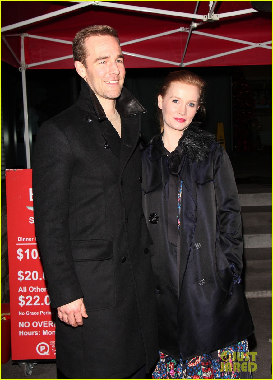 james van der beek kimberly brook boa date night 032782974