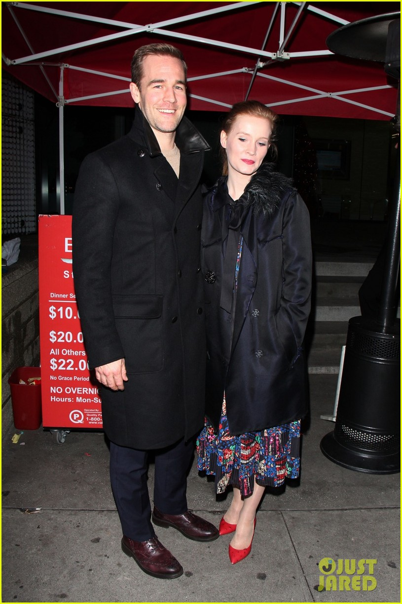 james van der beek kimberly brook boa date night 092782980