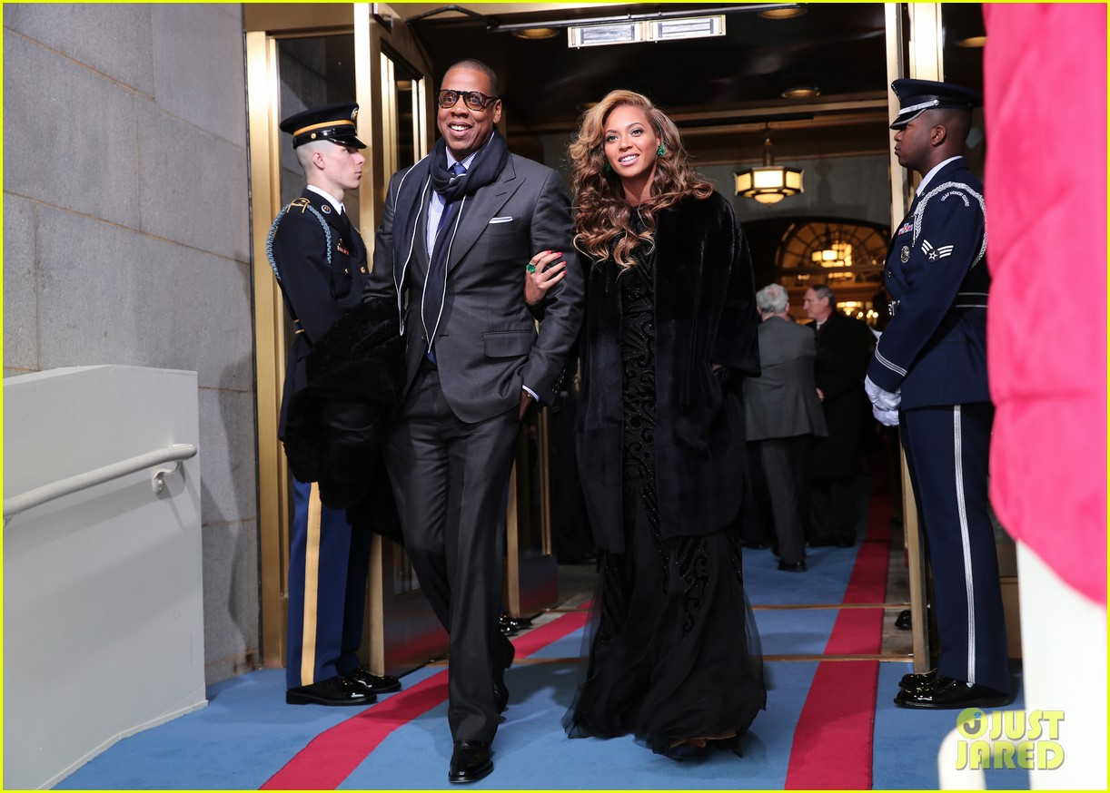 beyonce national anthem inauguration performance watch now 06
