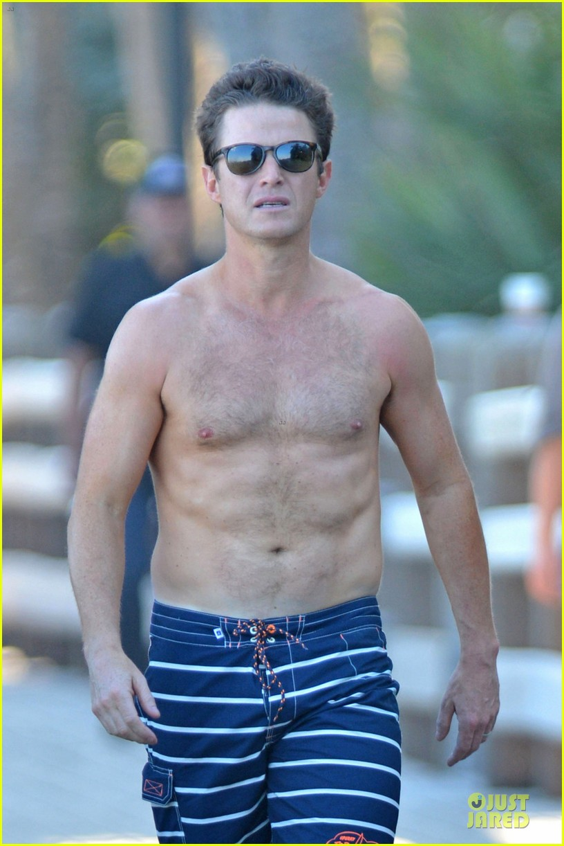 billy bush shirtless access hollywood segment 02