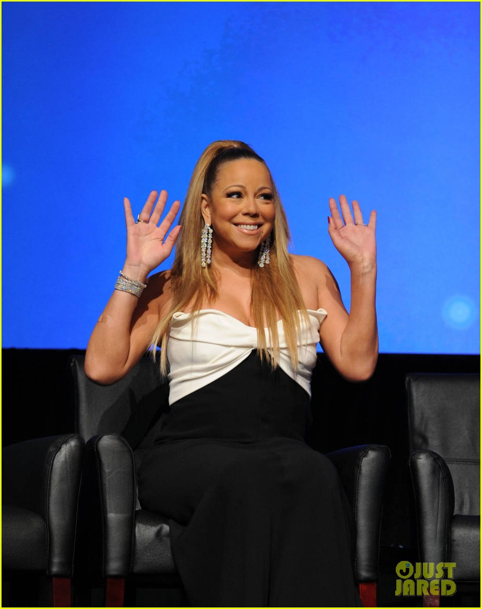 mariah carey nicki minaj american idol premiere screening 03