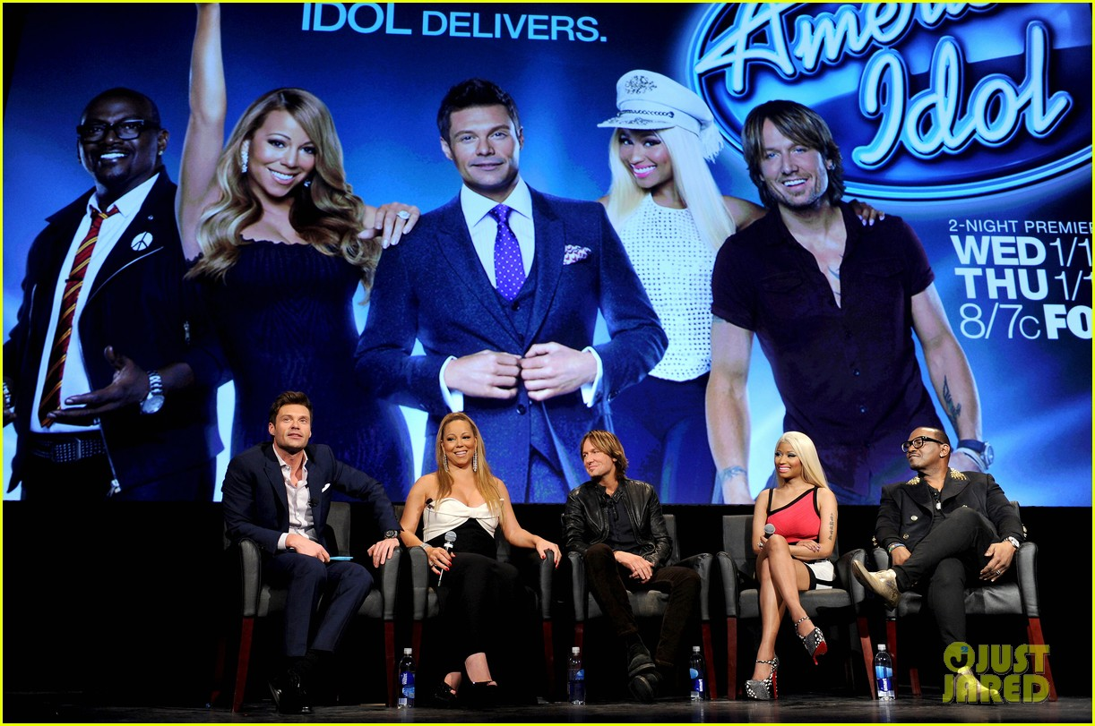 mariah carey nicki minaj american idol premiere screening 20