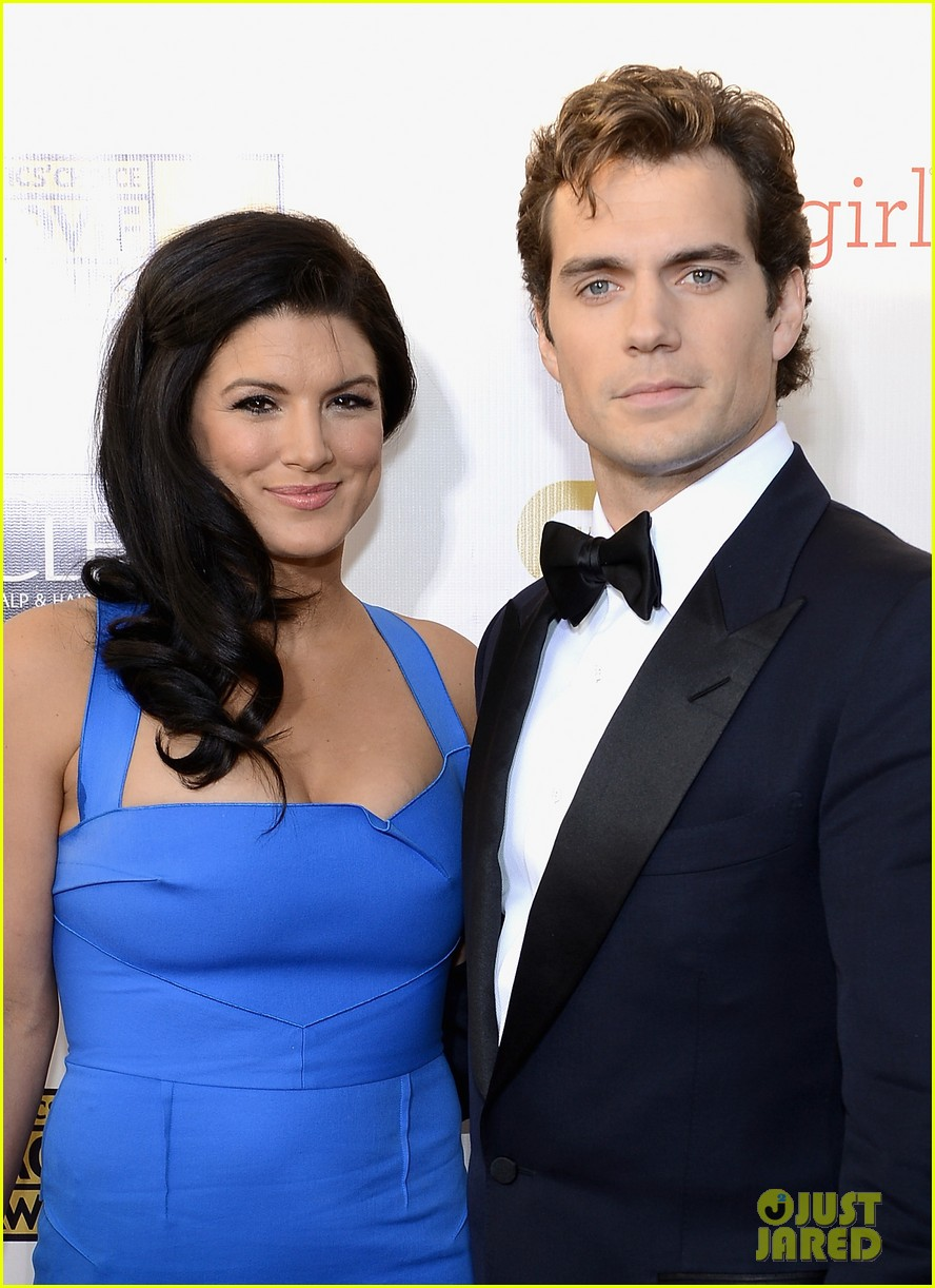 henry cavill gina carano new couple at critics choice awards 05