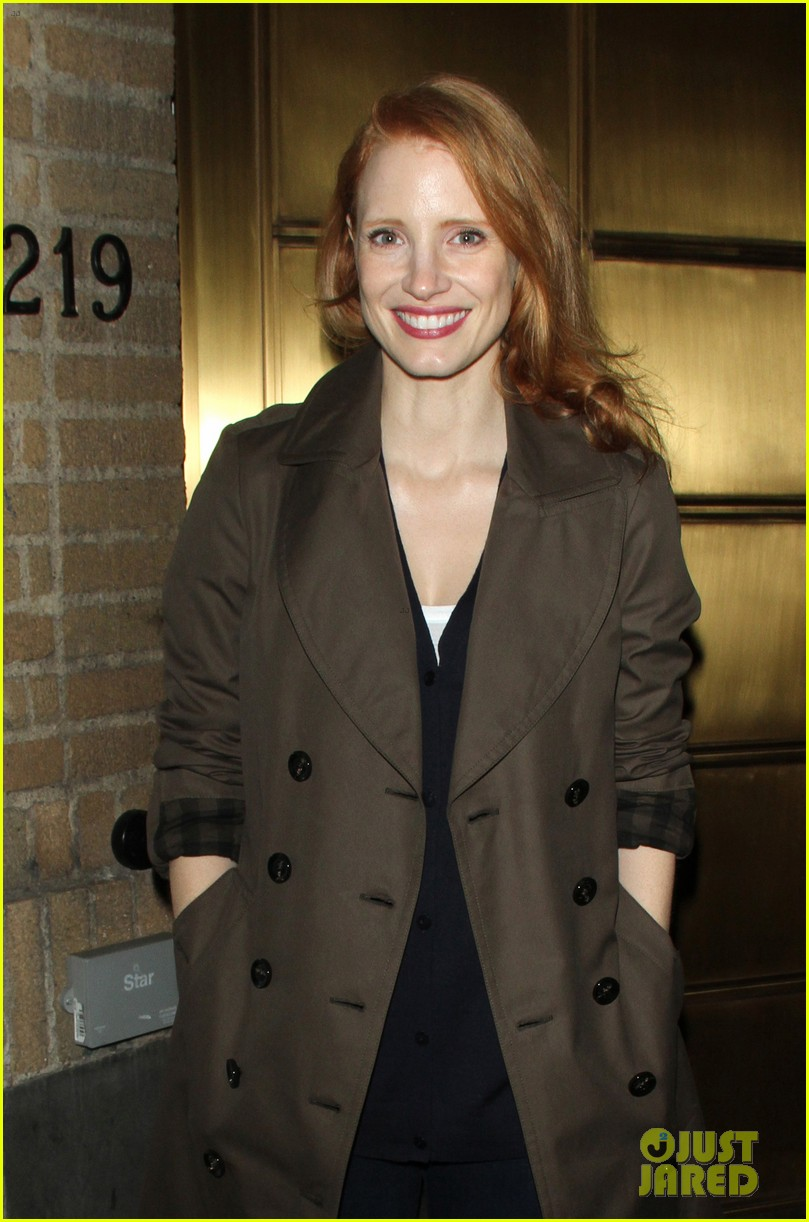 jessica chastain my first big purchase was couch 13