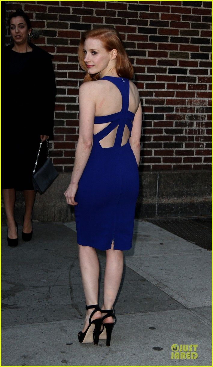 jessica chastain mama new york screening 032786538