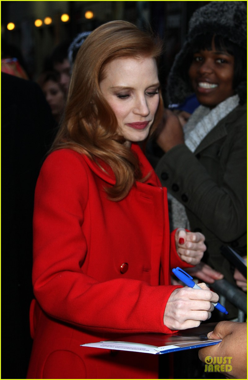 jessica chastain mama new york screening 04