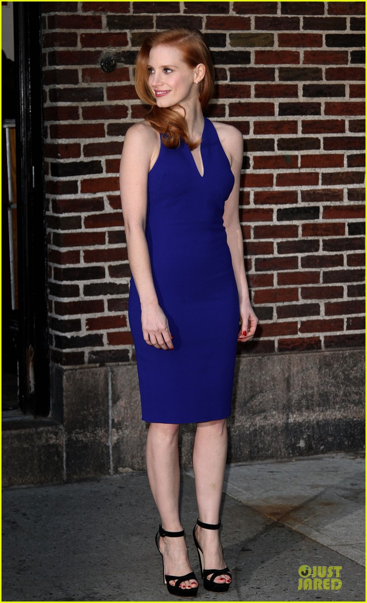jessica chastain mama new york screening 08