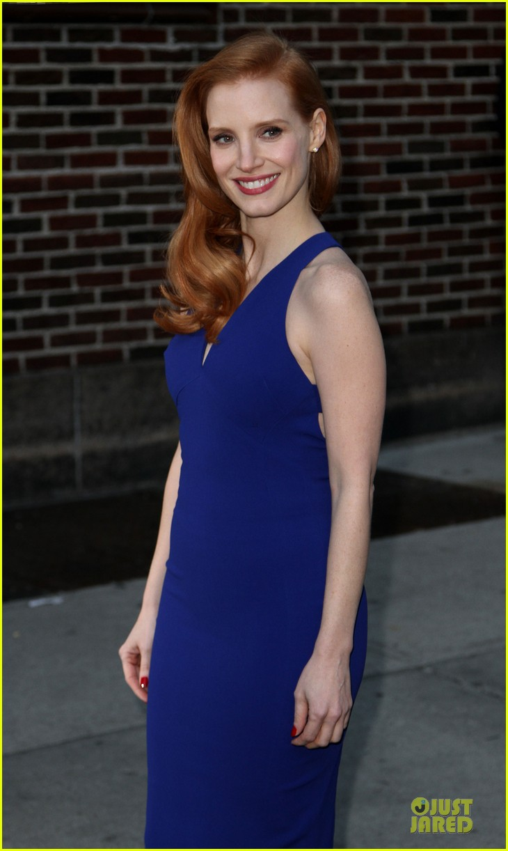 jessica chastain mama new york screening 09