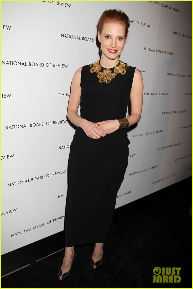 jessica chastain national board of review awards gala 2013 03