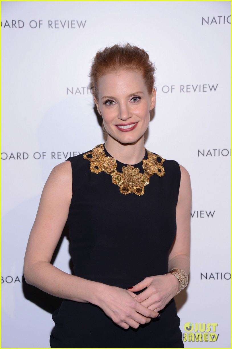 jessica chastain national board of review awards gala 2013 08