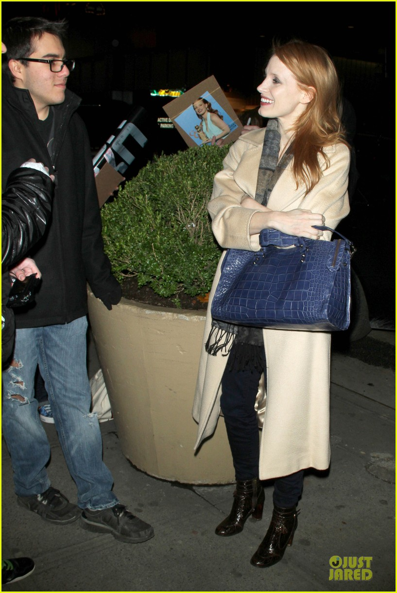 jessica chastain post golden globe win heiress performance 032792989