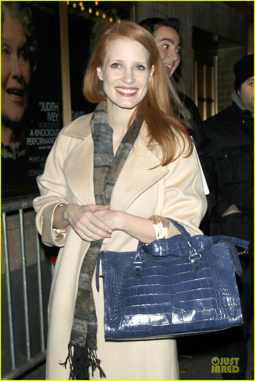 jessica chastain post golden globe win heiress performance 06