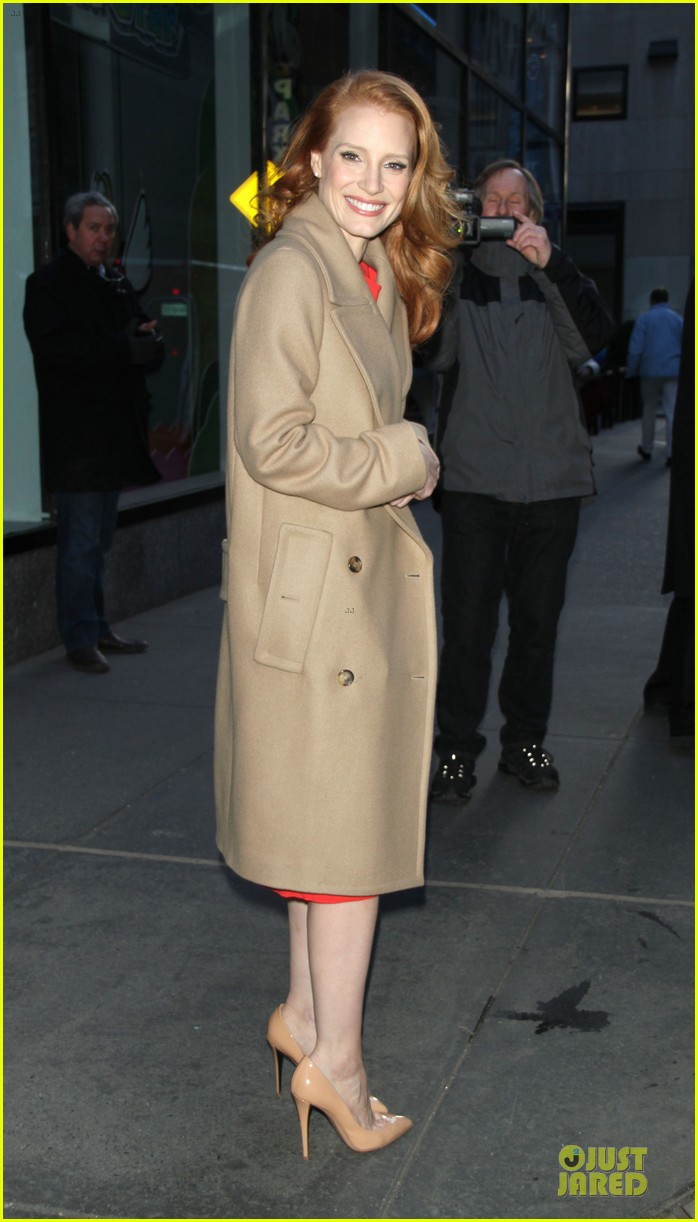 jessica chastain mama promotion on today show watch now 18