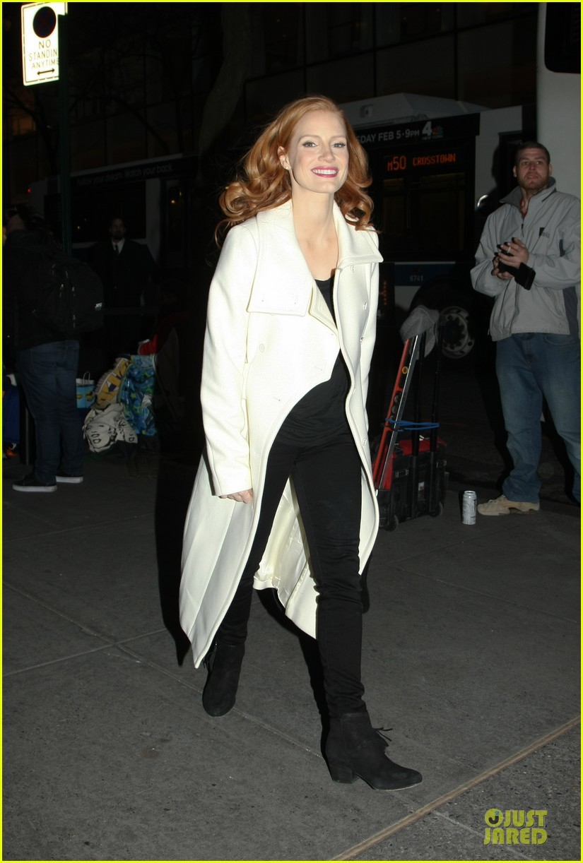 jessica chastain mama promotion on today show watch now 252794477