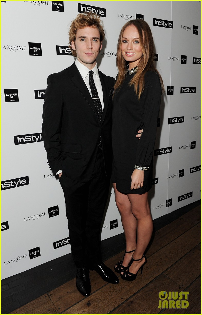 sam claflin instyle party with girlfriend laura haddock 03