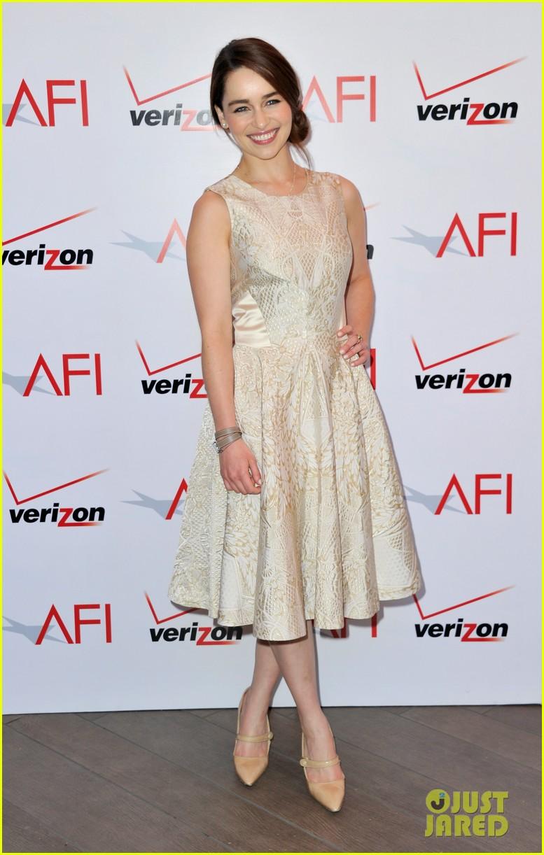emilia clarke afi awards 2013 red carpet 10