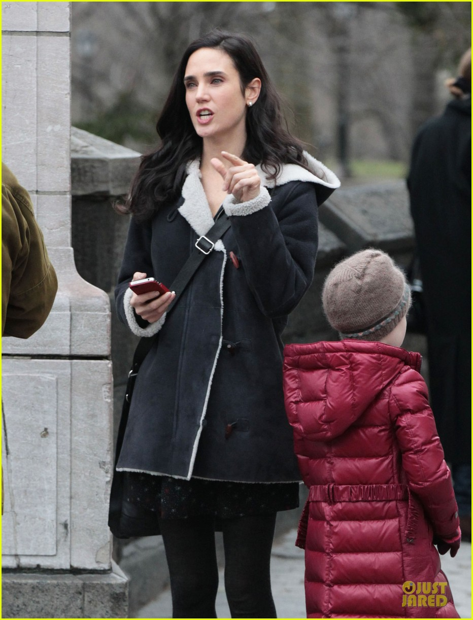 jennifer connelly agnes visits winters tale set 02