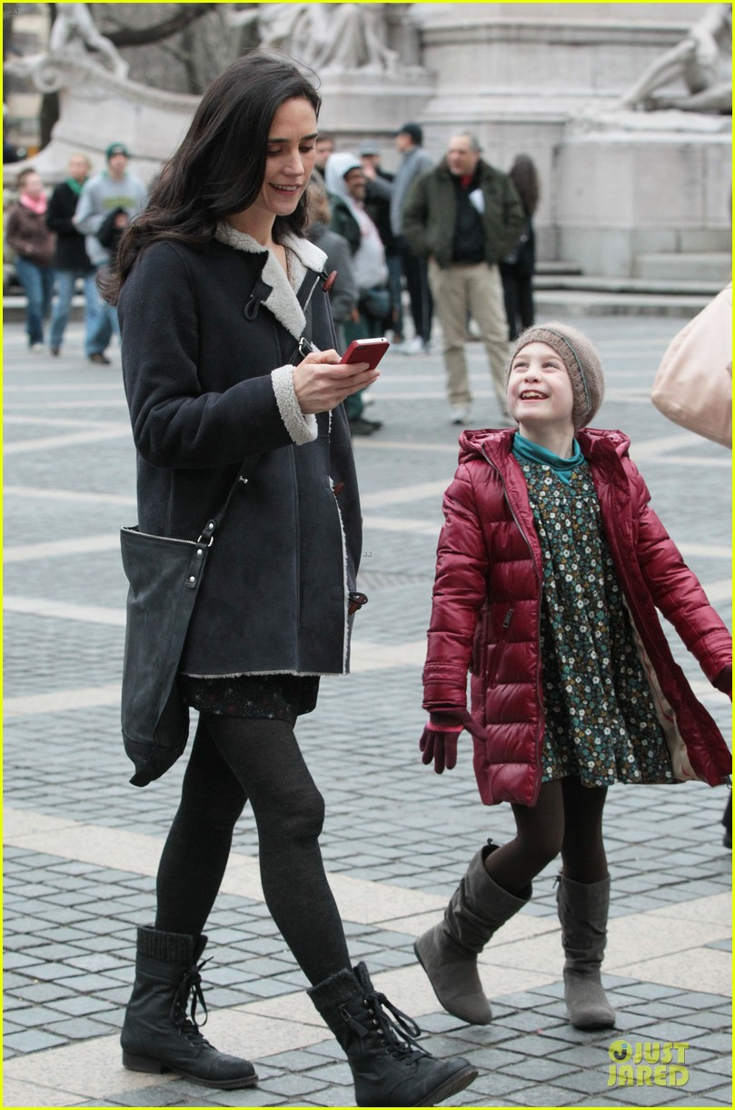 jennifer connelly agnes visits winters tale set 10