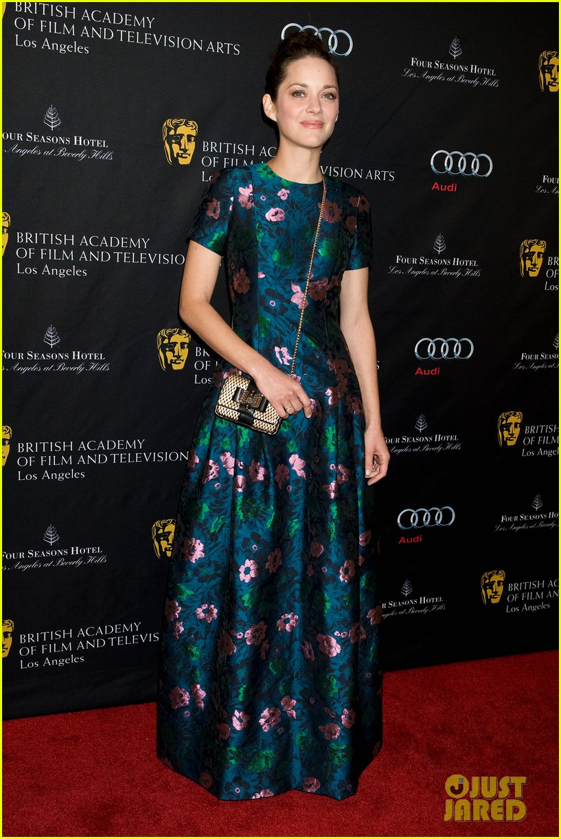 marion cotillard sienna miller bafta tea party 2013 09