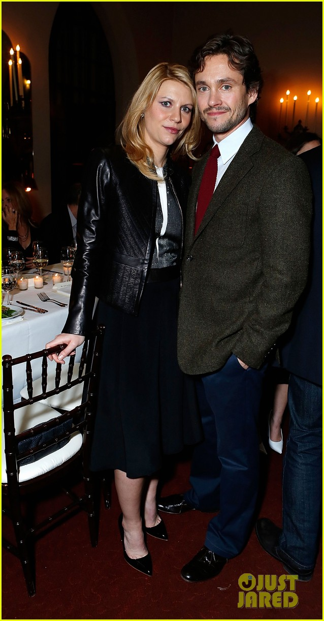 claire danes homeland cast showtime golden globes dinner 13