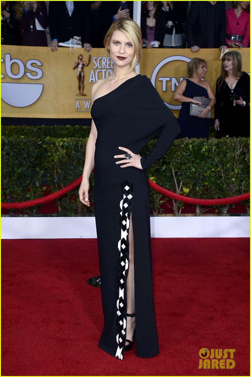 claire danes sag awards 2013 red carpet 03
