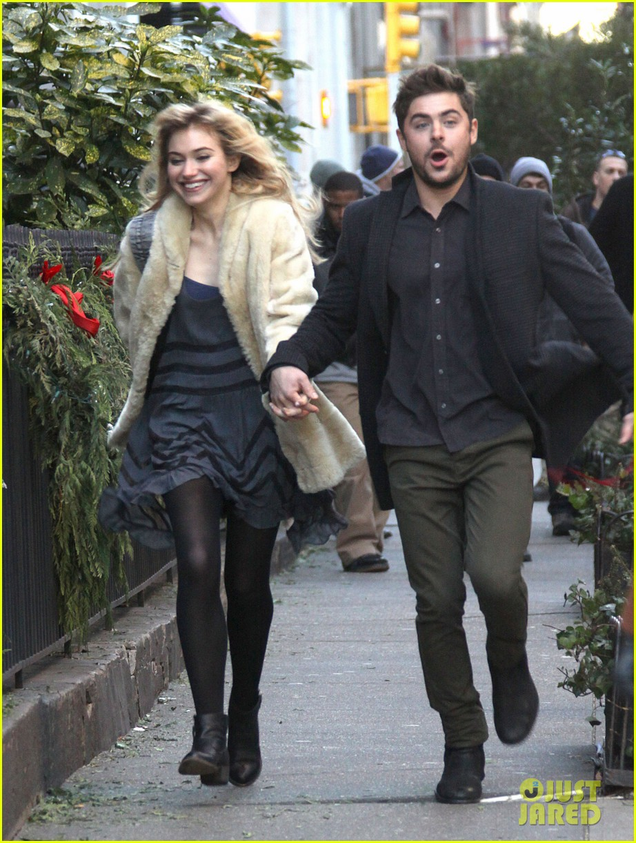 zac efron imogen poots kiss kiss for dating 08