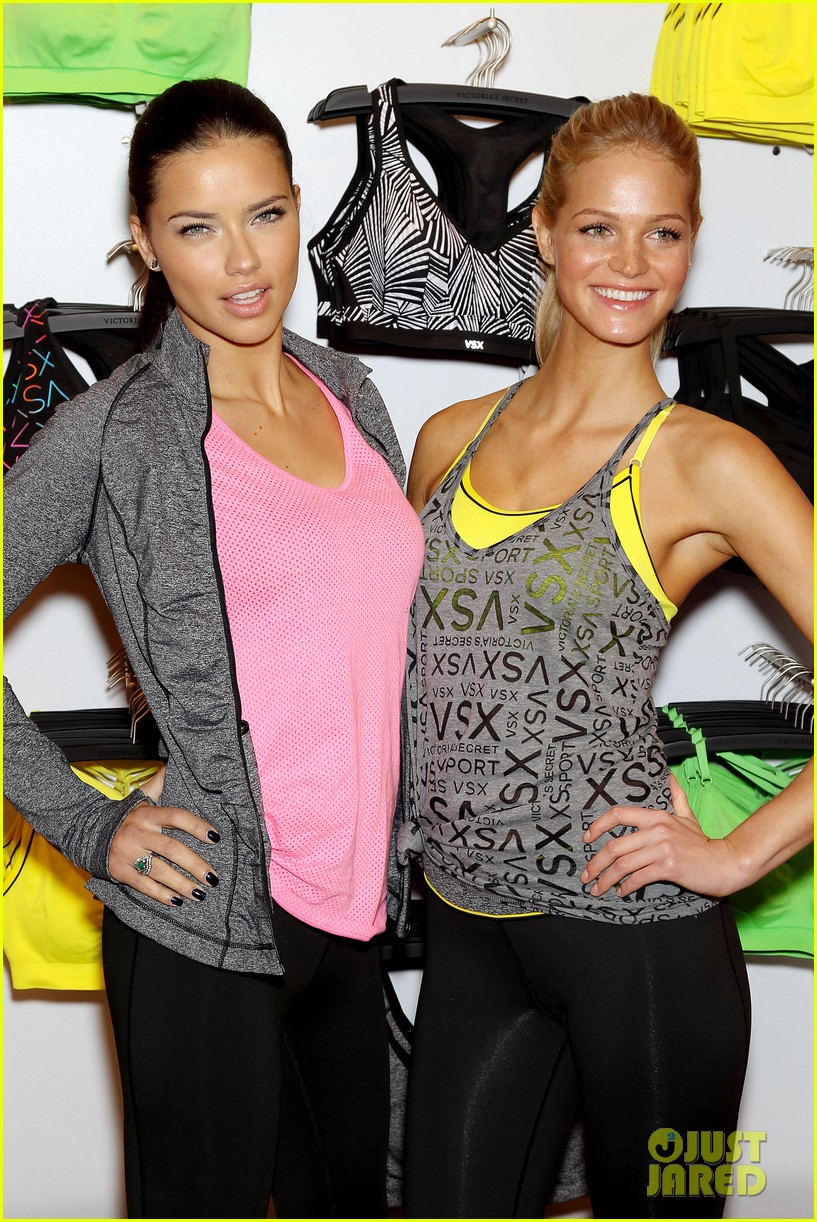 erin heatherton adriana lima victorias secret sport healthy year launch 102792735