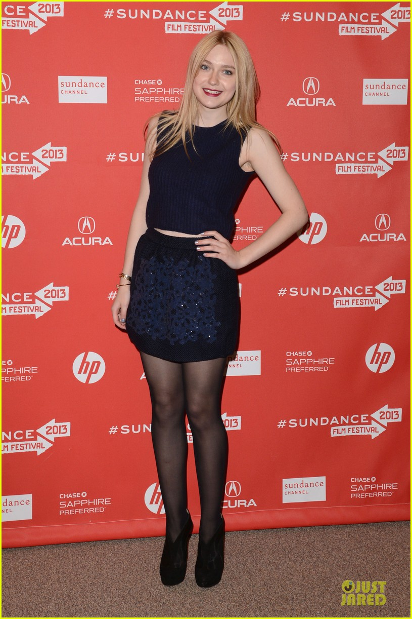 dakota fanning very good girls sundance premiere 08