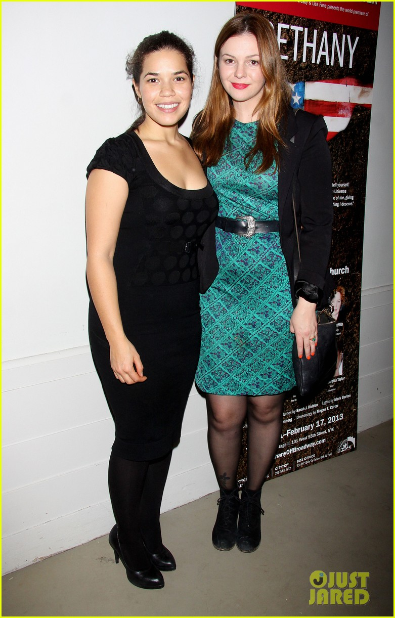 america ferrera amber tamblyn bethany after premiere party 11