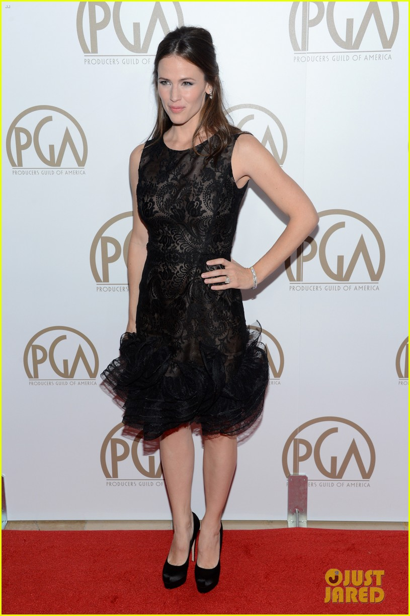 jennifer garner ben affleck pgas carpet 06