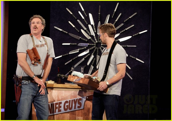 ryan gosling will ferrell knife guys for jimmy kimmel live 10