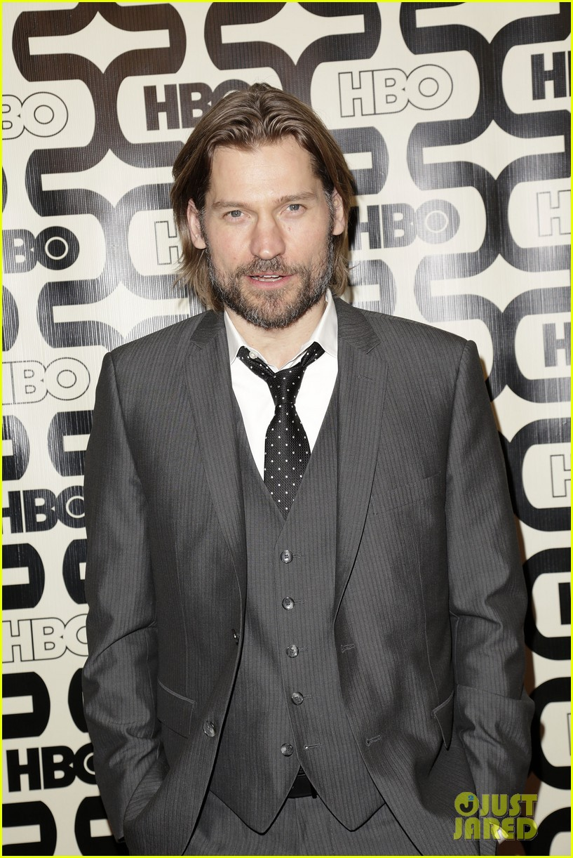 kit harington nikolaj coster waldau golden globes party 2013 062792156