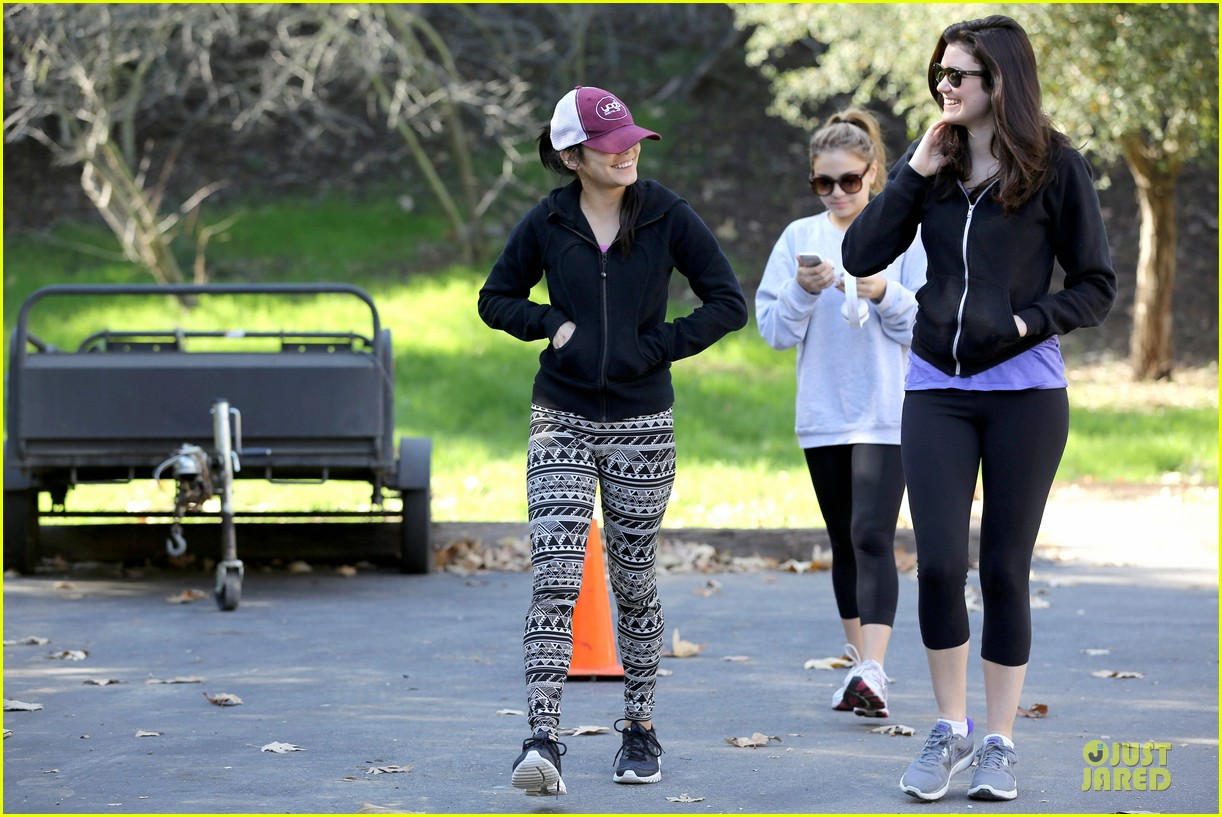 vanessa hudgens studio city hike with stella 192787057