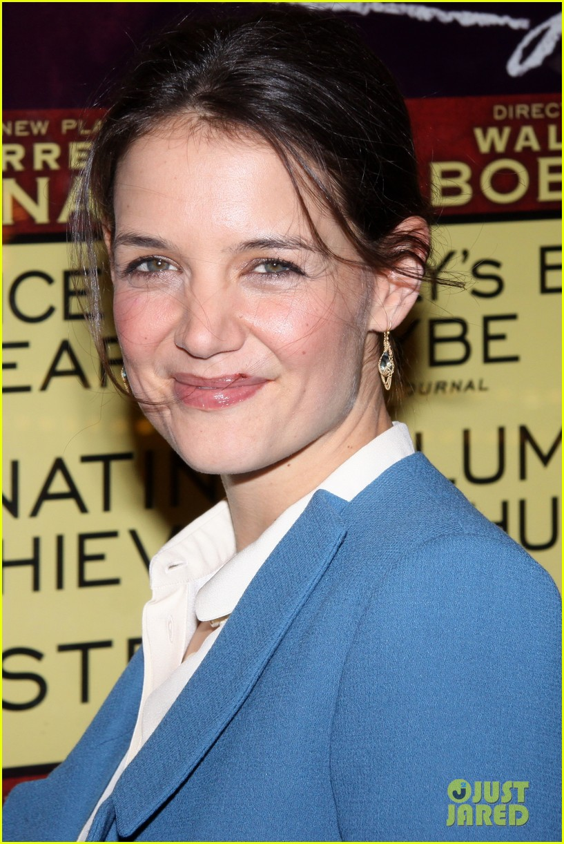 katie holmes the other place broadway opening night 022788955