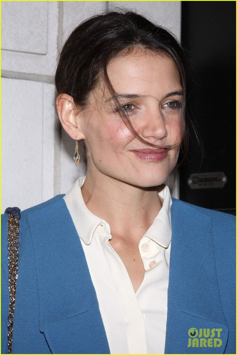katie holmes the other place broadway opening night 09