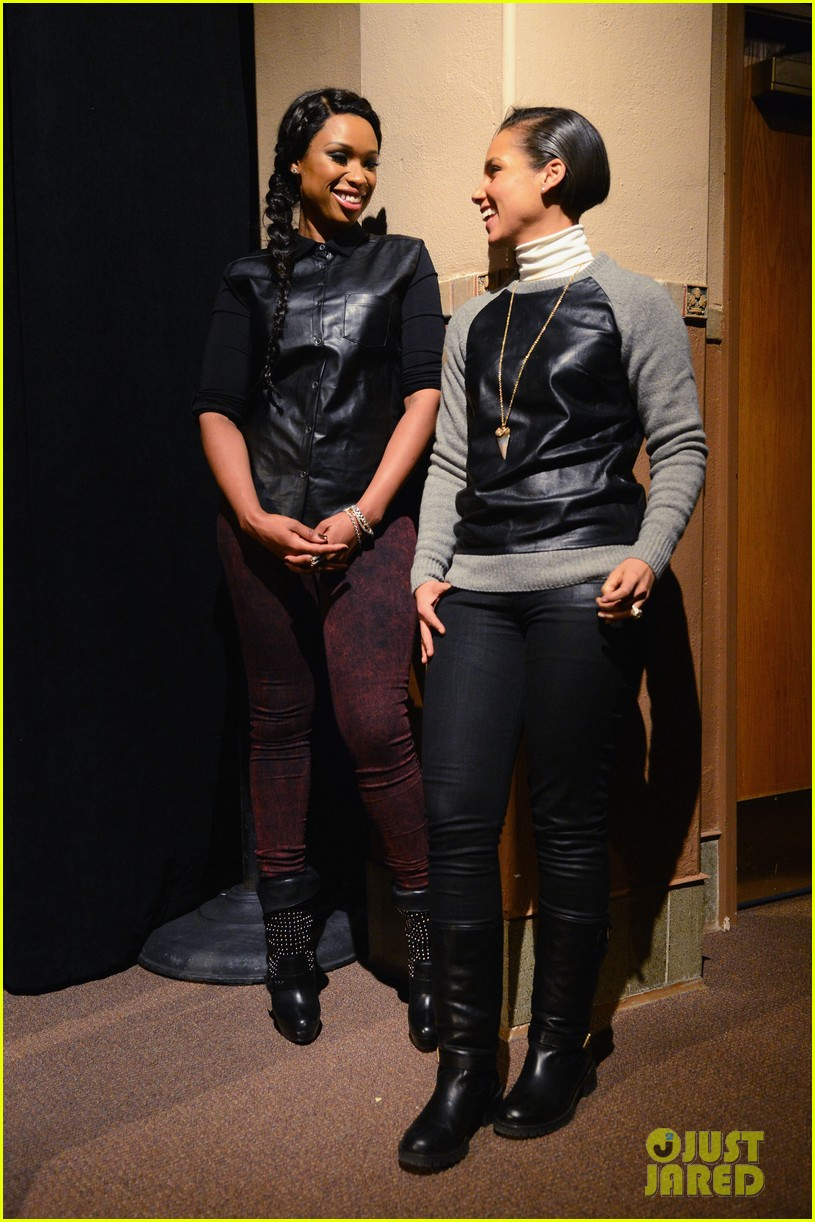 jennifer hudson alicia keys defeat of mister and pete screening 02