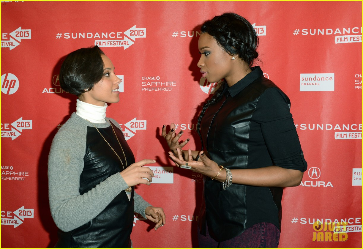 jennifer hudson alicia keys defeat of mister and pete screening 09