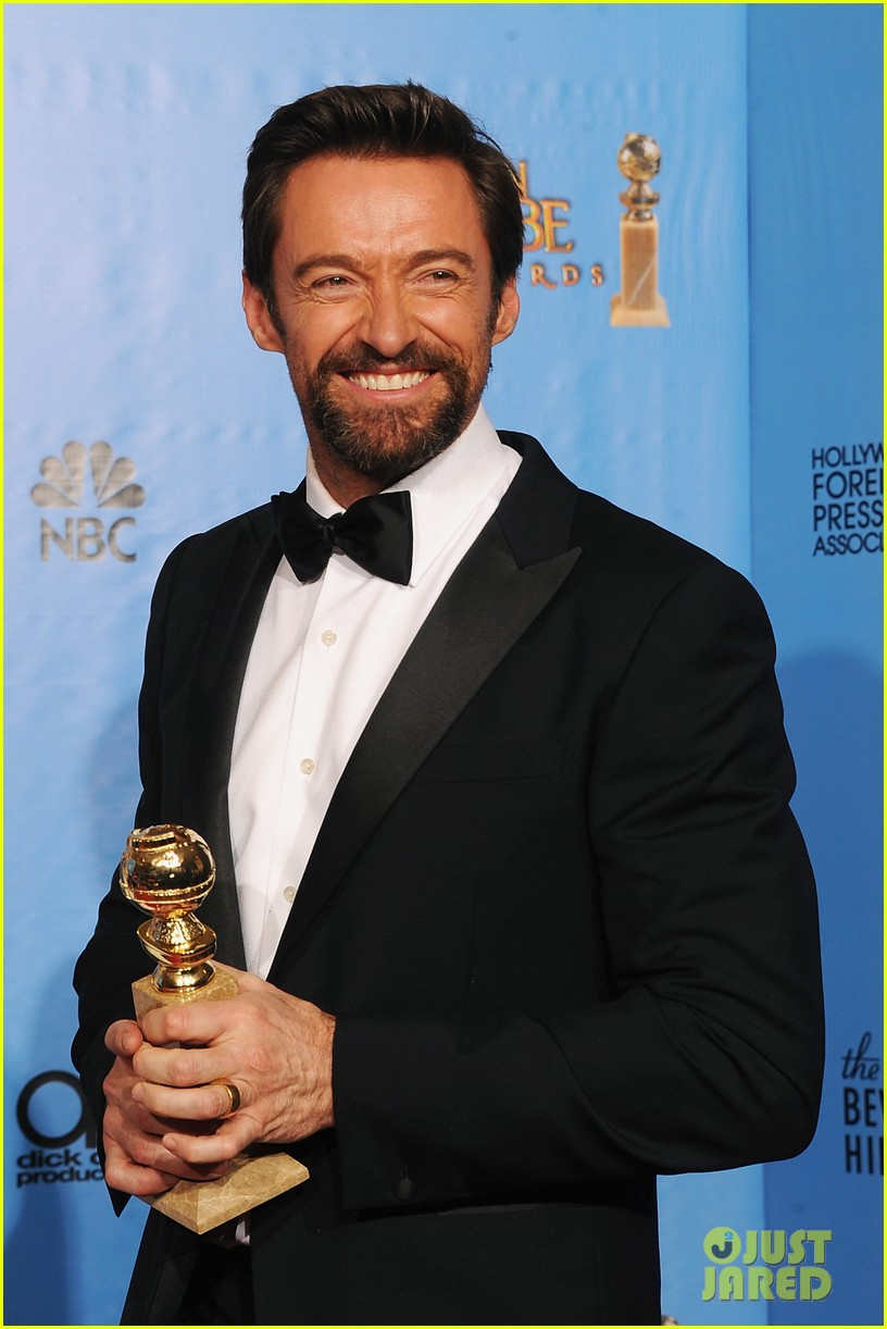 hugh jackman golden globes 2013 red carpet 042791290