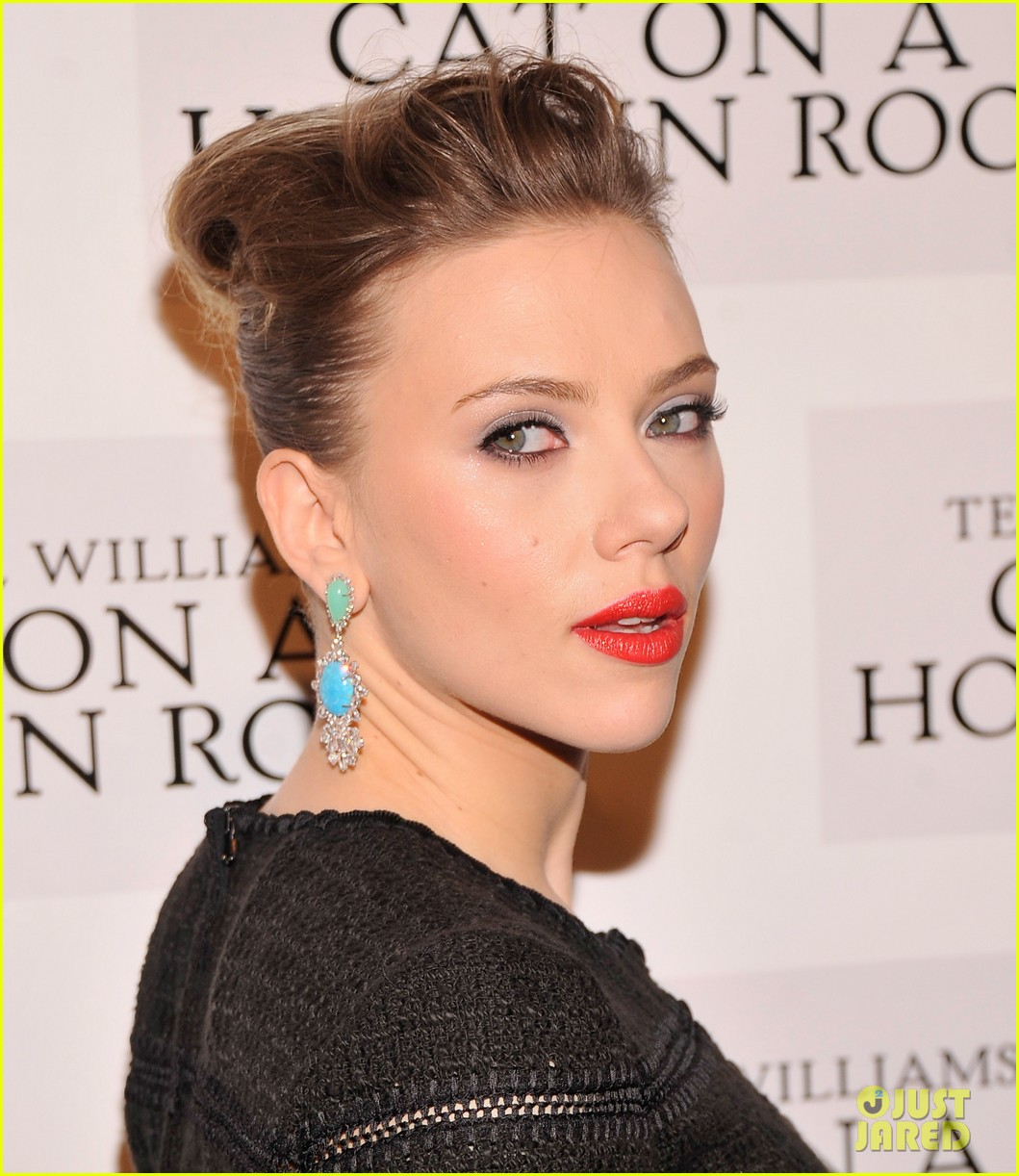 scarlett johansson cat on a hot tin roof opening party 202794080