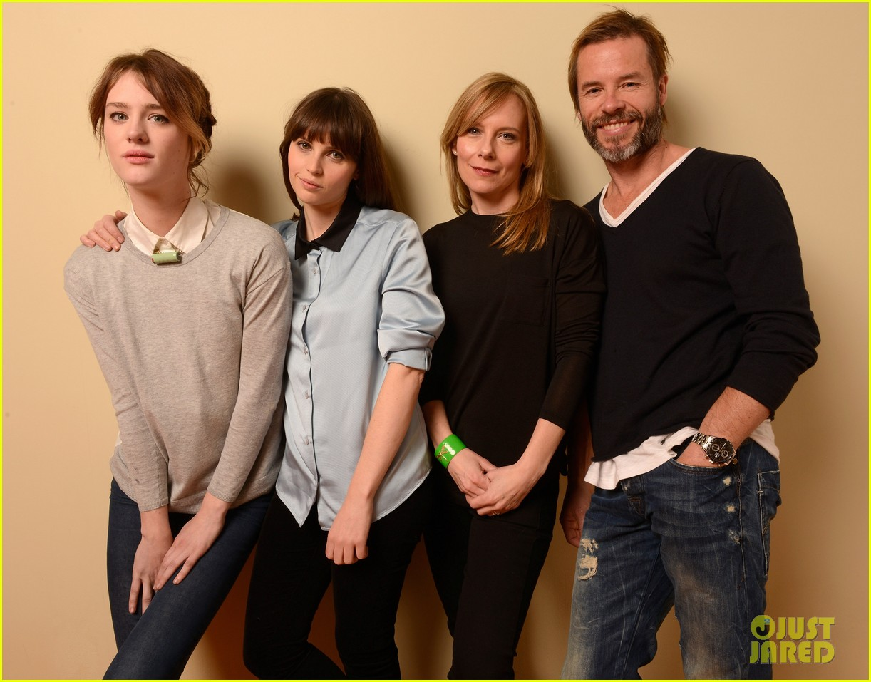 felicity jones guy pearce breathe in at sundance 10