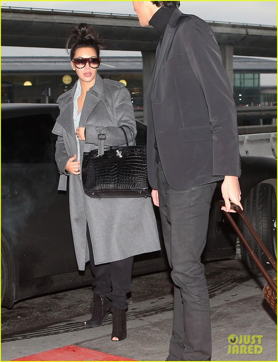 kim kardashian back from paris 052790754