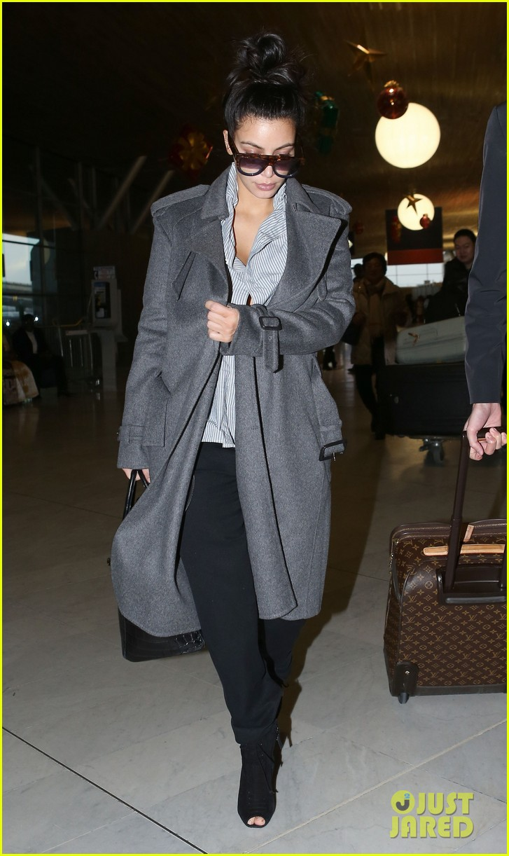 kim kardashian back from paris 092790758