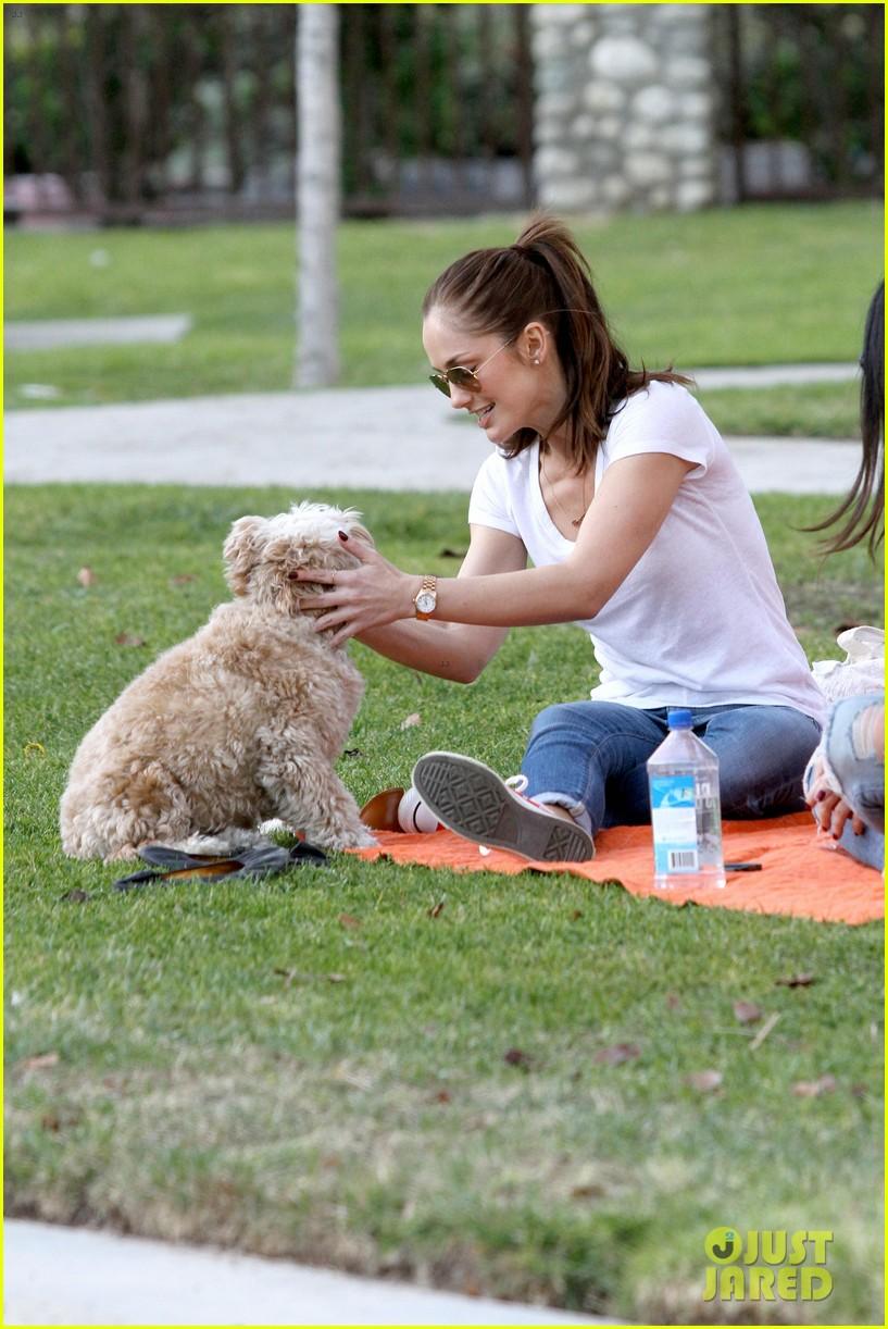 minka kelly dog park fun with chewy 312795963