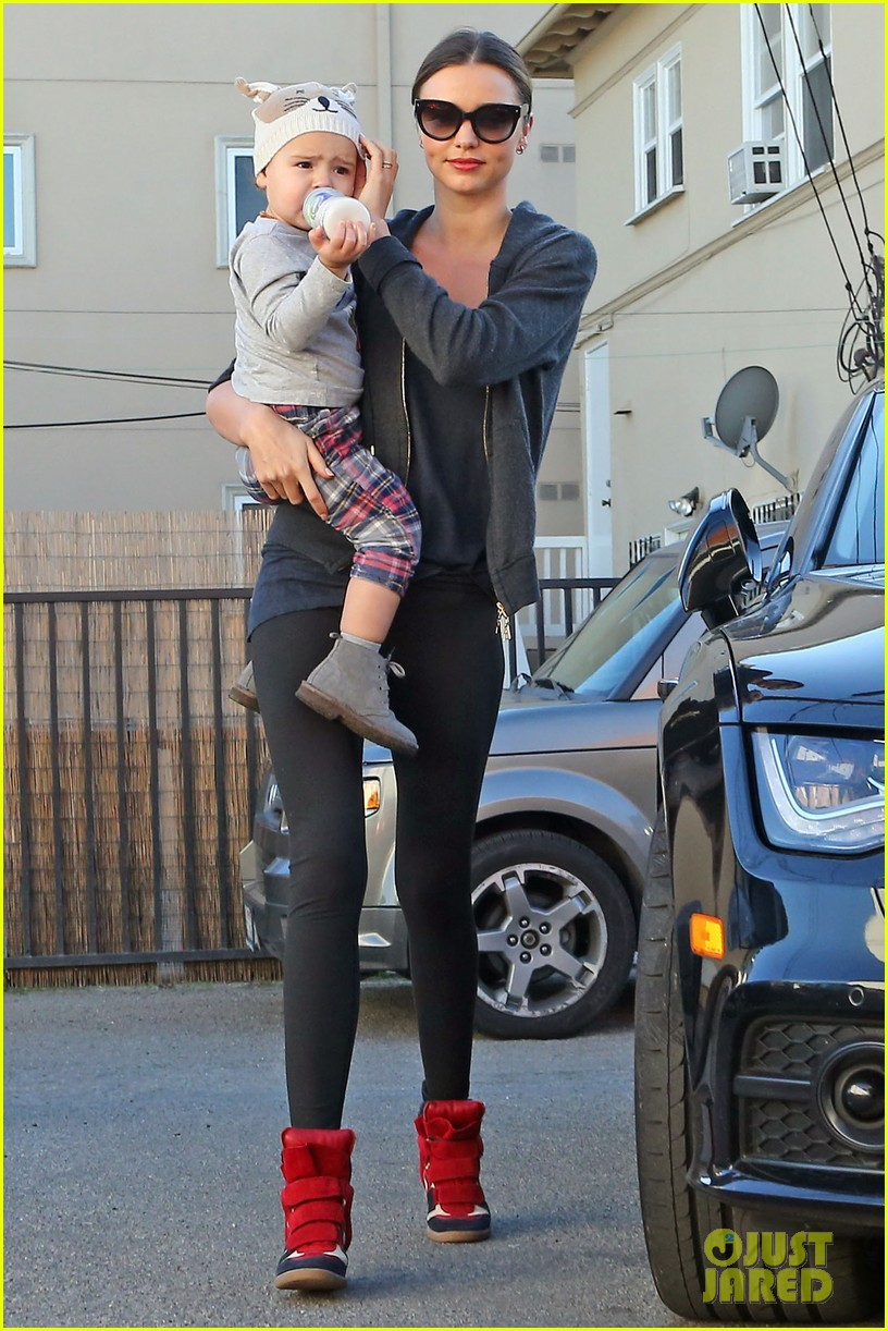 miranda kerr and flynn workout buddies 23