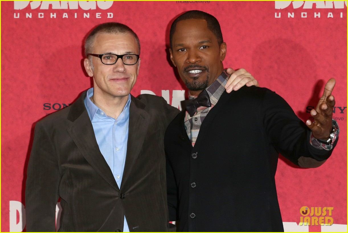 kerry washington jamie foxx django berlin photo call 052786756