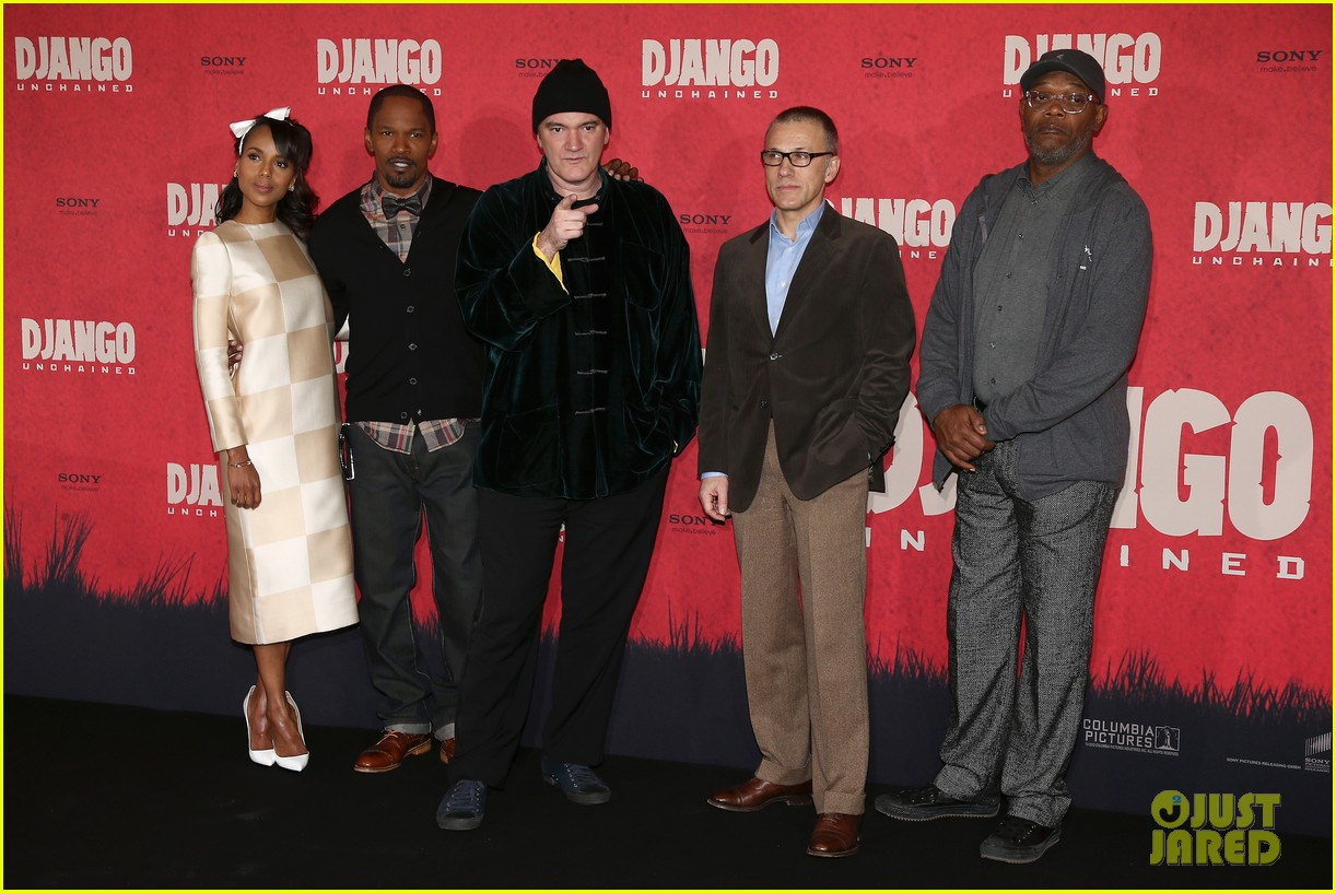 kerry washington jamie foxx django berlin photo call 142786765