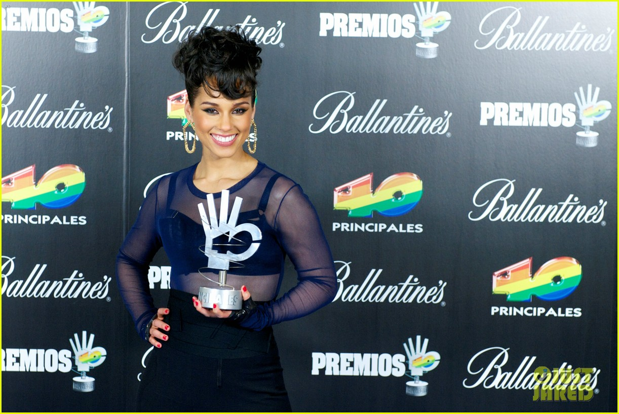 alicia keys 40 principales awards performance watch now 182798276