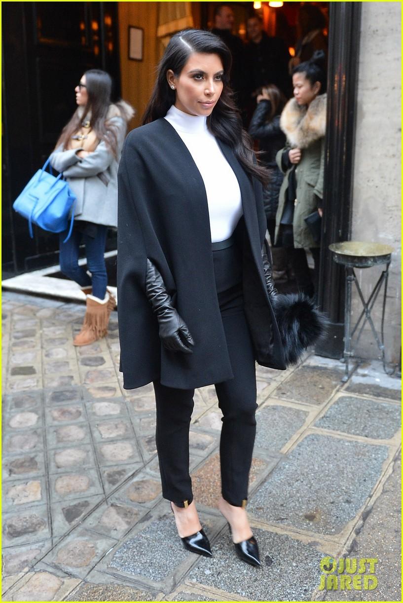 kim kardashian kanye west perfect night in paris 11