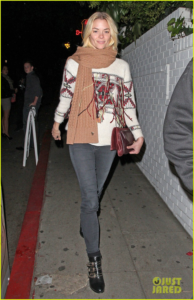 jaime king chateau marmont with kyle newman 01