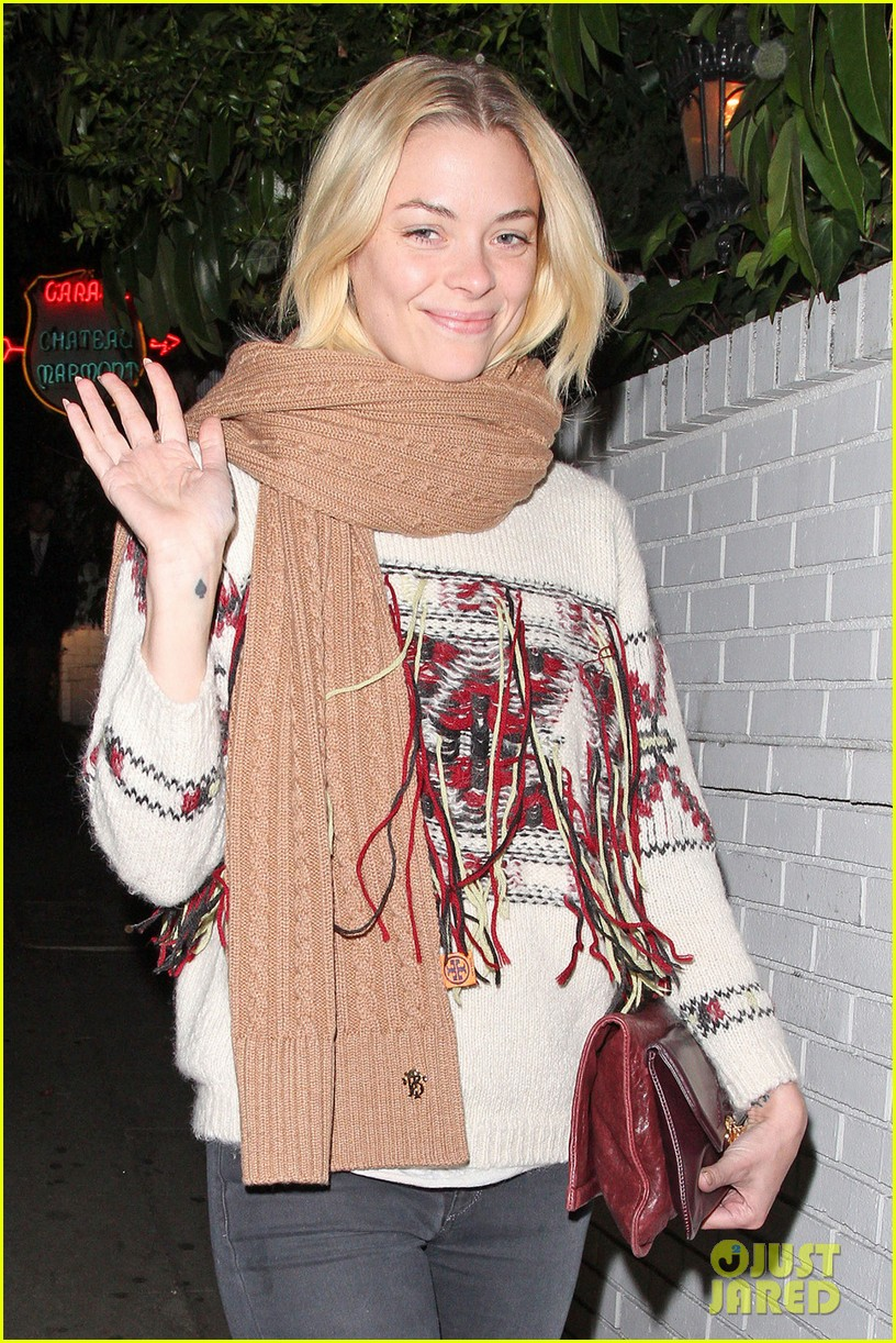 jaime king chateau marmont with kyle newman 02